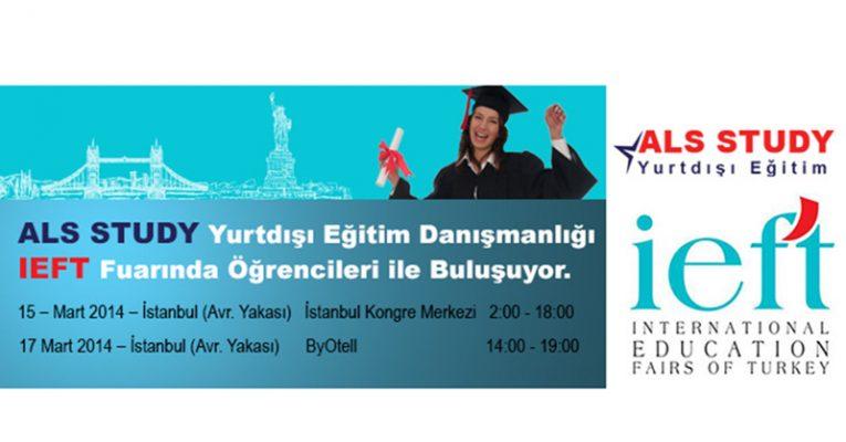 ALL STUDY Yurtdışı Eğitim Danışmanlığı IEFT Fuarında Öğrencileri ile Buluşuyor