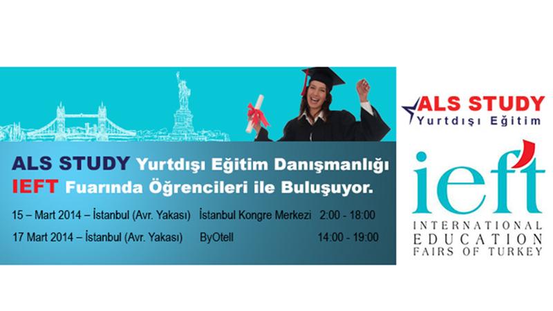 ALS STUDY Yurtdışı Eğitim Danışmanlığı IEFT Fuarında Öğrencileri ile Buluşuyor